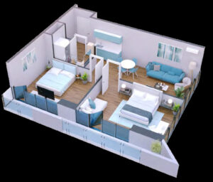 Apartment 73 sqm